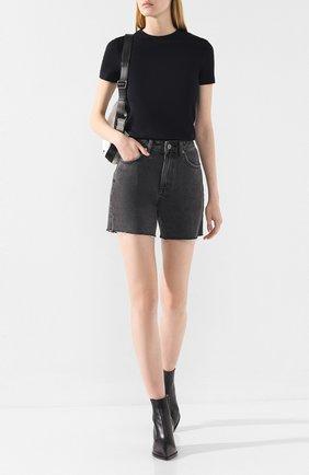 Женская футболка HELMUT LANG черного цвета, арт. J06HW502 | Фото 2