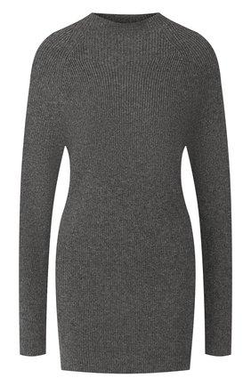 Женская свитер из смеси шерсти и кашемира JOSEPH темно-серого цвета, арт. JF003375 | Фото 1