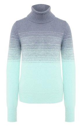 Женская свитер DRIES VAN NOTEN бирюзового цвета, арт. 192-11245-8727 | Фото 1