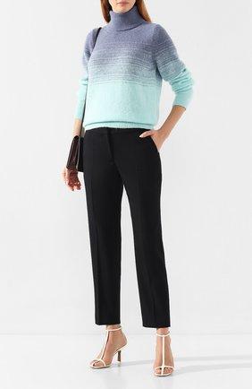 Женская свитер DRIES VAN NOTEN бирюзового цвета, арт. 192-11245-8727 | Фото 2