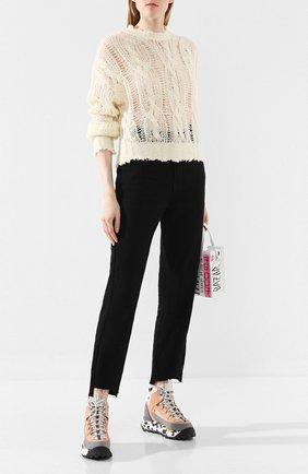 Женская свитер ACNE STUDIOS белого цвета, арт. A60111 | Фото 2