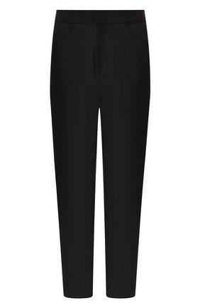 Женские брюки TOTÊME черного цвета, арт. N0VARA 193-209-705 | Фото 1