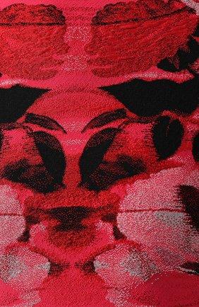 Женский топ из смеси шелка и вискозы ALEXANDER MCQUEEN розового цвета, арт. 594990/Q1AJ1 | Фото 5