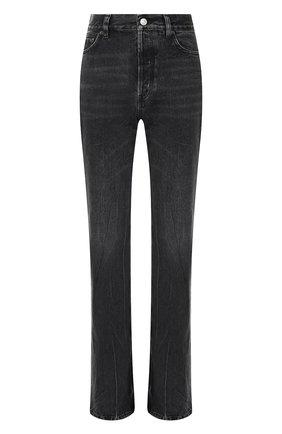 Женские джинсы BALENCIAGA темно-серого цвета, арт. 594390/TBP47 | Фото 1