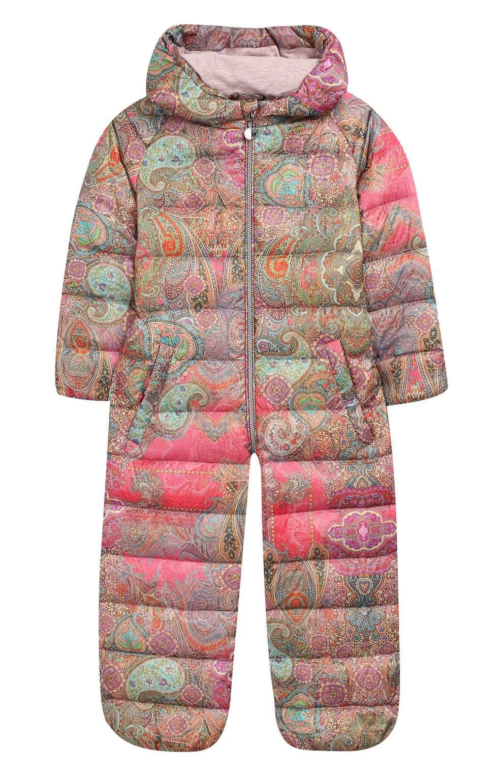 Детского пуховый комбинезон кашмир CHEPE разноцветного цвета, арт. 391269   Фото 1