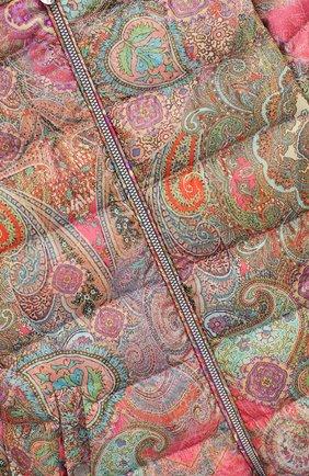 Детского пуховый комбинезон кашмир CHEPE разноцветного цвета, арт. 391269   Фото 3