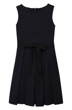 Детское платье с поясом CAF синего цвета, арт. 303-XX-AI1920/6A-8A   Фото 2