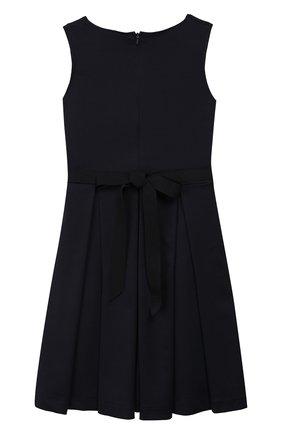 Детское платье с поясом CAF синего цвета, арт. 303-XX-AI1920/9A-11A   Фото 2