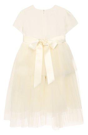 Женский платье с поясом CAF белого цвета, арт. 103-FP-AI1819/12M-4A | Фото 2