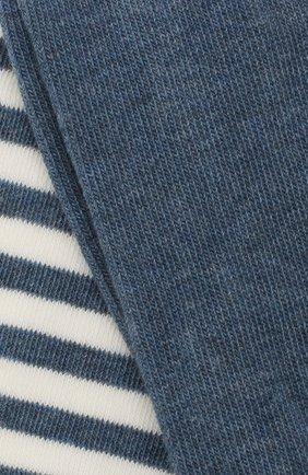 Детские хлопковые колготки FALKE голубого цвета, арт. 13840 | Фото 2