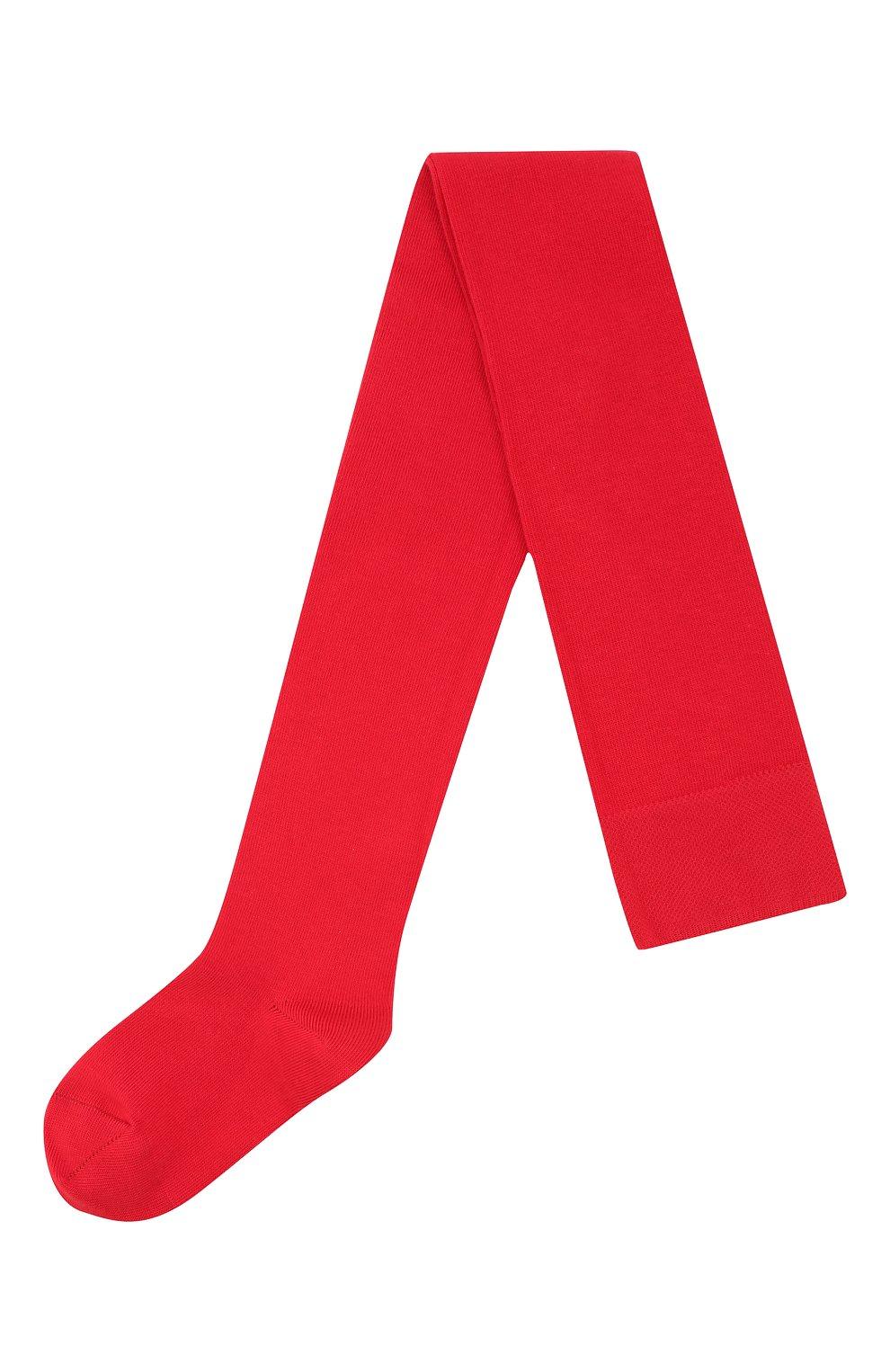 Детские хлопковые колготки FALKE красного цвета, арт. 13645 | Фото 1