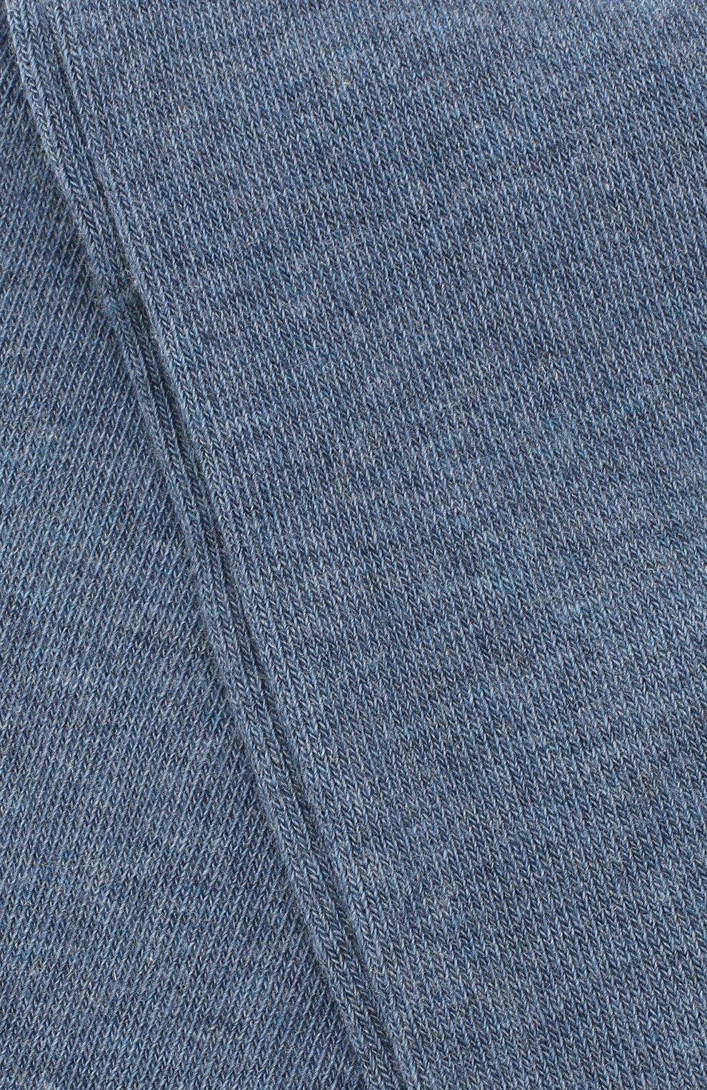 Детские хлопковые колготки FALKE голубого цвета, арт. 13645 | Фото 2 (Материал: Текстиль, Хлопок; Статус проверки: Проверено, Проверена категория)