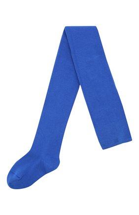 Детские хлопковые колготки FALKE синего цвета, арт. 13645 | Фото 1