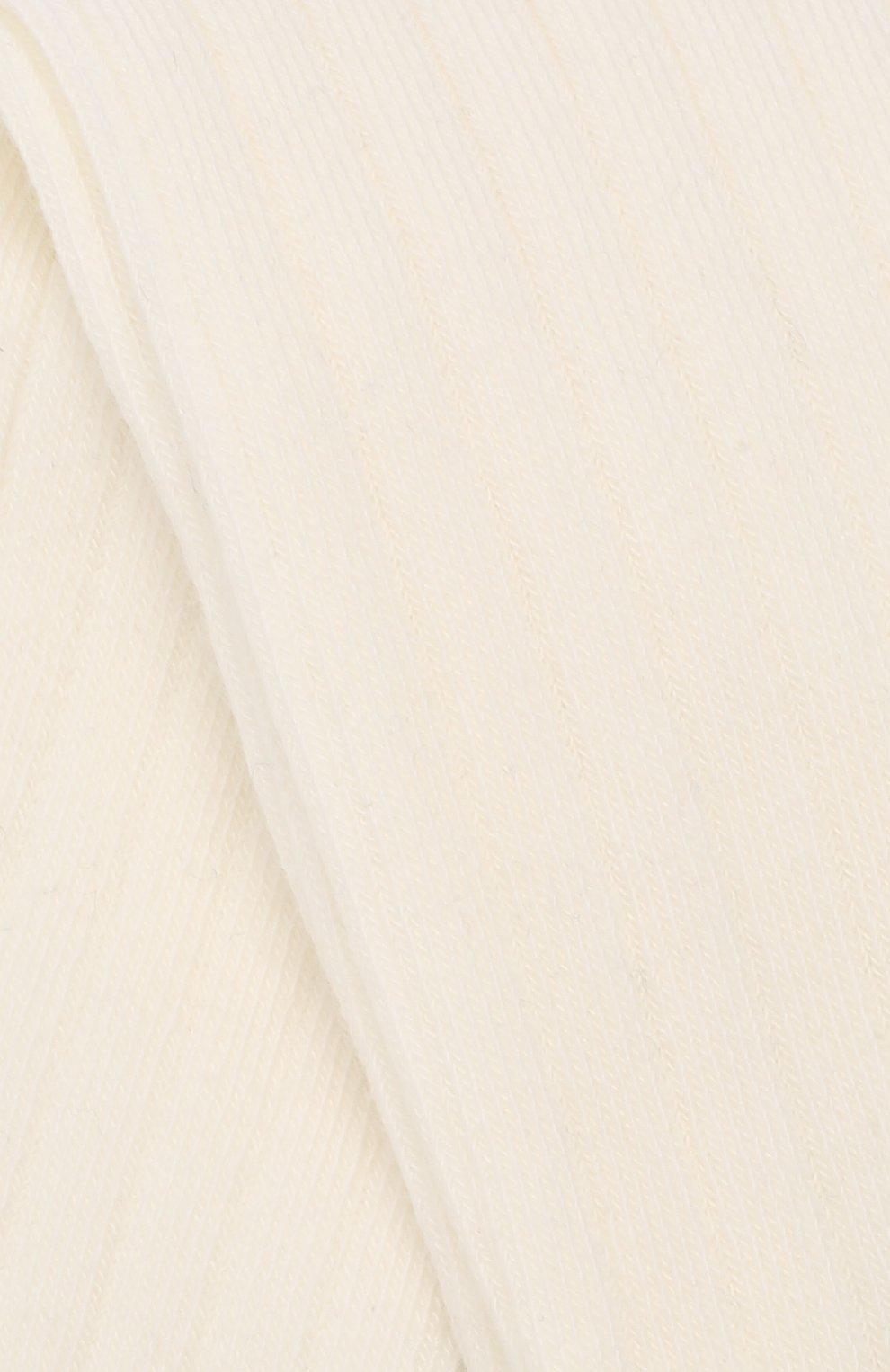 Детские хлопковые колготки FALKE белого цвета, арт. 13642   Фото 2