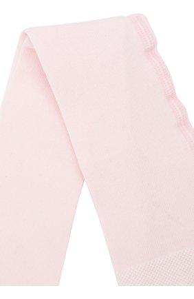 Детские хлопковые колготки FALKE розового цвета, арт. 13625 | Фото 2
