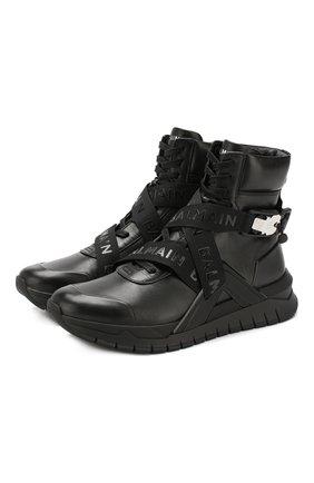 Кожаные кроссовки B-Troop | Фото №1
