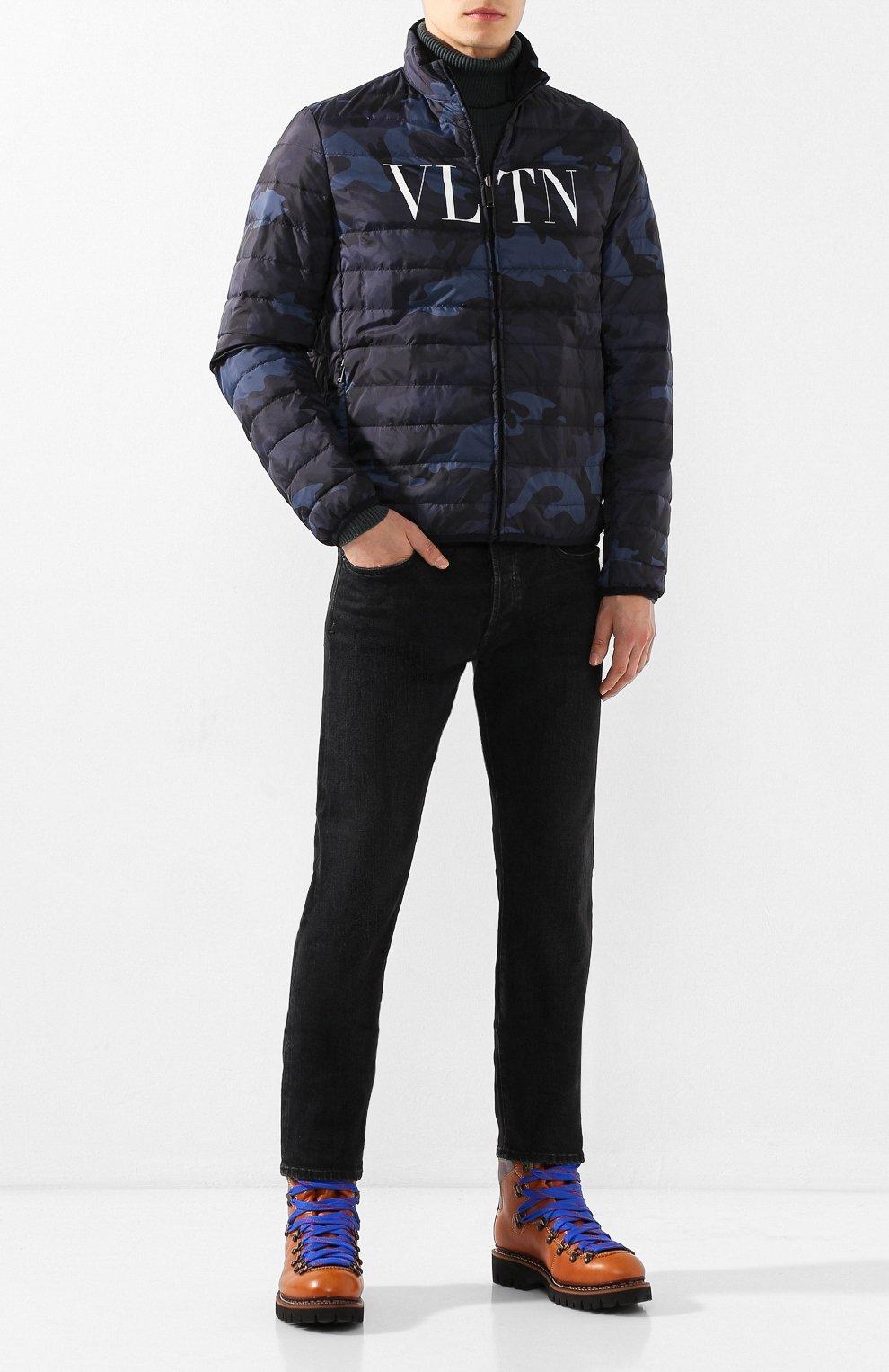 Двусторонняя пуховая куртка | Фото №2