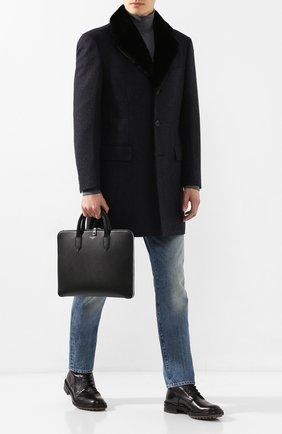 Кожаный портфель Gotico | Фото №2