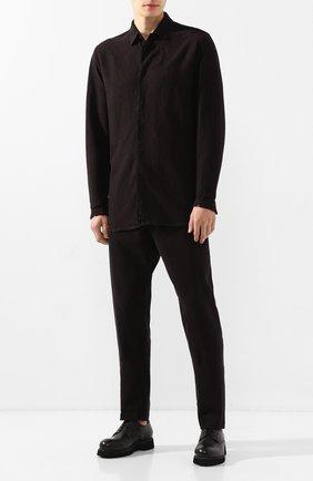 Мужские кожаные ботинки ROCCO P. черного цвета, арт. 9013/R0CK DEER | Фото 2