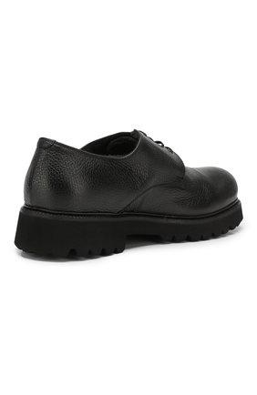 Мужские кожаные ботинки ROCCO P. черного цвета, арт. 9013/R0CK DEER | Фото 4