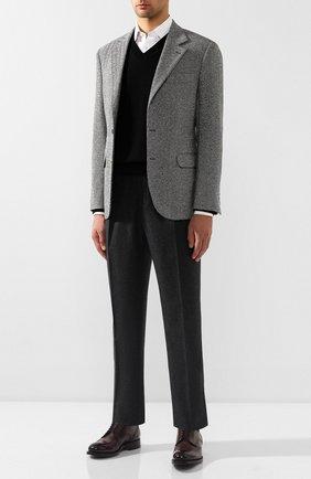 Мужской кашемировый пуловер TOM FORD черного цвета, арт. BTK66/TFK300 | Фото 2