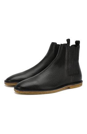 Мужские кожаные челси nino SAINT LAURENT черного цвета, арт. 588727/1FT00 | Фото 1