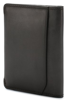 Мужской кожаное портмоне BERLUTI черного цвета, арт. N152796 | Фото 2