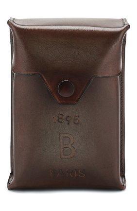 Мужской кожаный футляр для сигар BERLUTI коричневого цвета, арт. X184578 | Фото 1