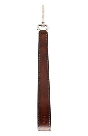 Мужской кожаный ремень для сумки BERLUTI светло-коричневого цвета, арт. X190106 | Фото 1