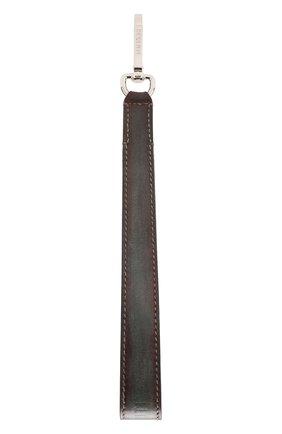 Мужской кожаный ремень для сумки BERLUTI коричневого цвета, арт. X190107 | Фото 1