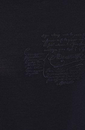 Мужской шерстяная водолазка BERLUTI синего цвета, арт. R16KHL70-001 | Фото 5