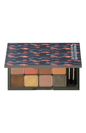 Женские палетка теней camo eyeshadow palette SHU UEMURA бесцветного цвета, арт. 4935421698986 | Фото 1