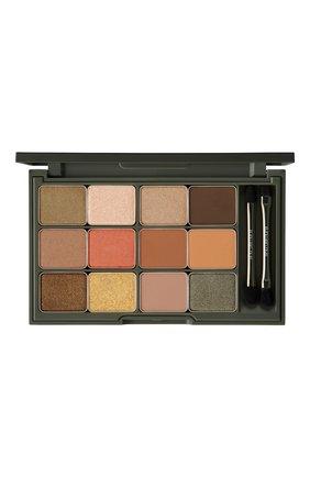 Женские палетка теней camo eyeshadow palette SHU UEMURA бесцветного цвета, арт. 4935421698986 | Фото 2
