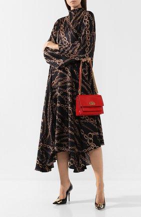 Женская сумка sharp s BALENCIAGA красного цвета, арт. 580641/1E00M | Фото 2