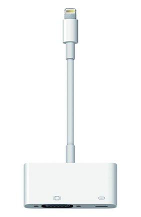 Мужской адаптер lightning/vga APPLE белого цвета, арт. MD825ZM/A | Фото 1