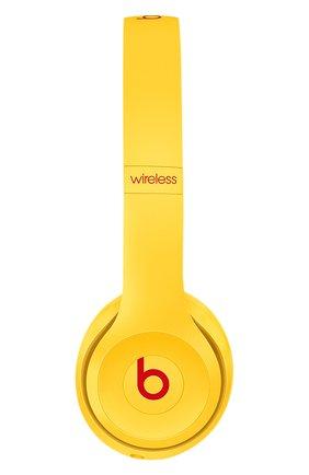 Мужские беспроводные наушники solo 3 wireless club BEATS желтого цвета, арт. MV8U2EE/A | Фото 2