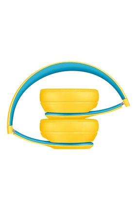 Мужские беспроводные наушники solo 3 wireless club BEATS желтого цвета, арт. MV8U2EE/A | Фото 3