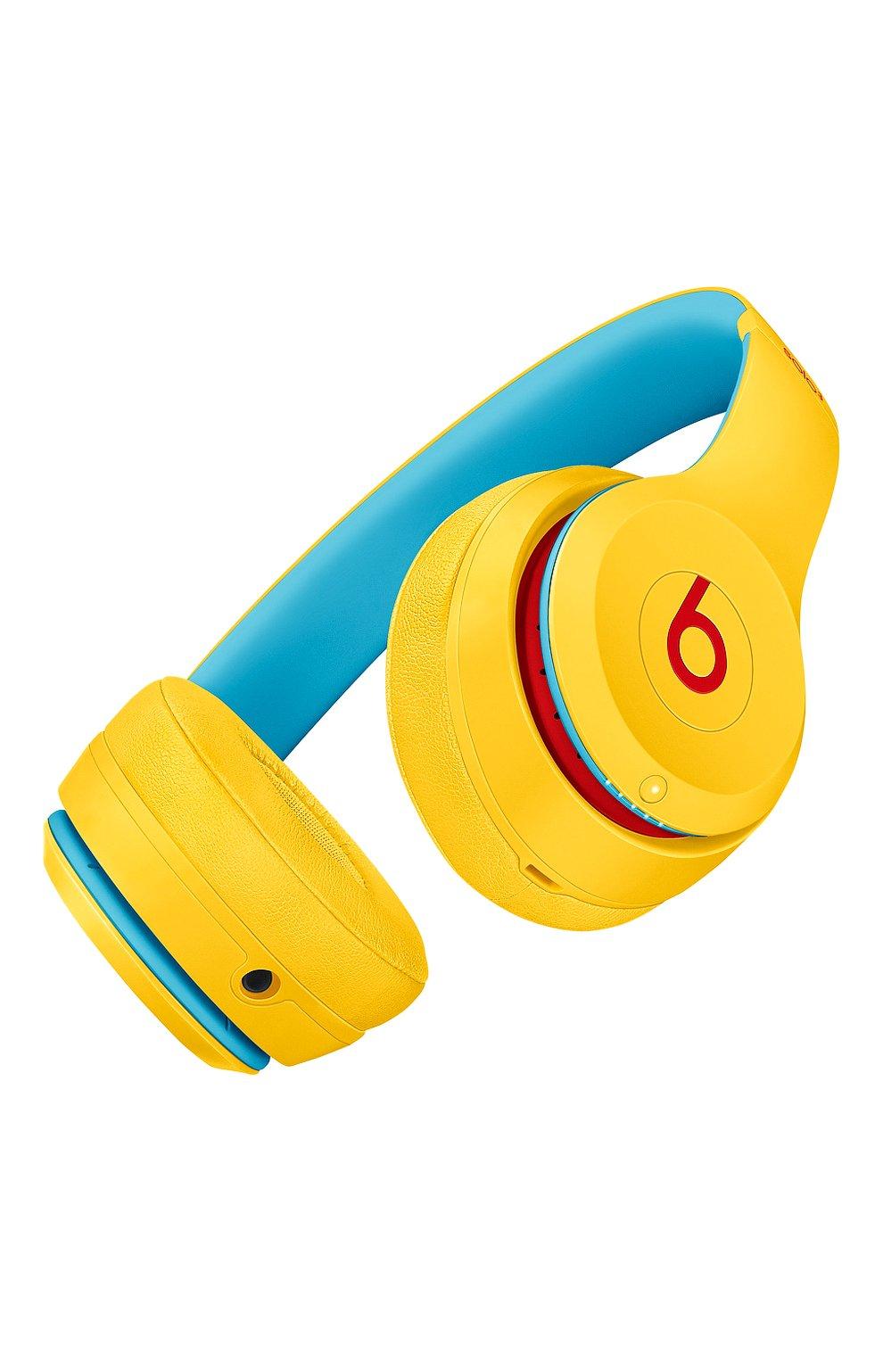 Мужские беспроводные наушники solo 3 wireless club BEATS желтого цвета, арт. MV8U2EE/A | Фото 4