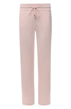 Женские кашемировые брюки LORO PIANA розового цвета, арт. FAI1960   Фото 1