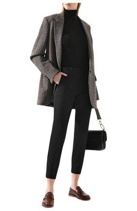 Женские брюки POLO RALPH LAUREN черного цвета, арт. 211752934 | Фото 2