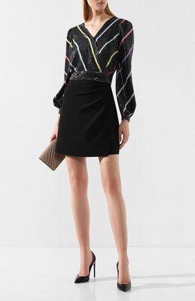Женская топ с пайетками OLIVIA RUBIN черного цвета, арт. 0R0127/KENDALL T0P | Фото 2