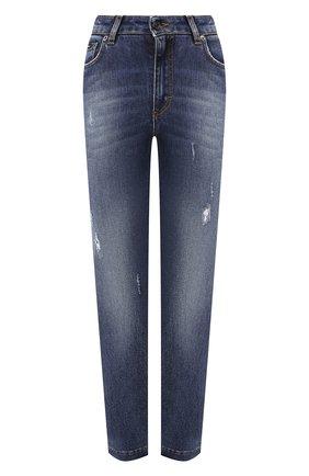 Женские джинсы DOLCE & GABBANA синего цвета, арт. FTAH6D/G898Q | Фото 1