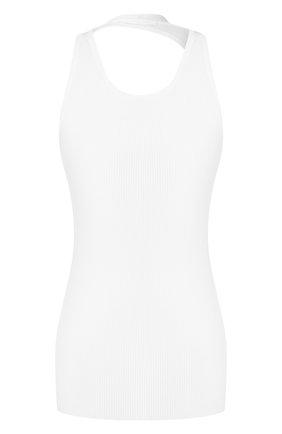 Женская хлопковый топ HELMUT LANG белого цвета, арт. J06HW506 | Фото 1
