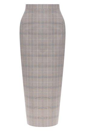Женская юбка NATASHA ZINKO серого цвета, арт. PF19302-05/70 | Фото 1