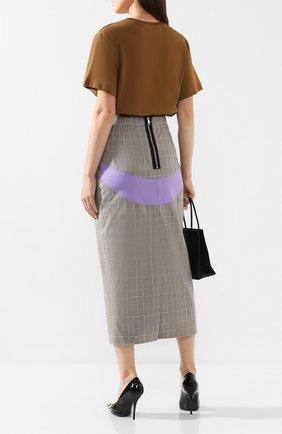 Женская юбка NATASHA ZINKO серого цвета, арт. PF19302-05/70 | Фото 2