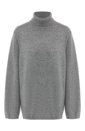 Женская свитер из смеси шерсти и кашемира TOTÊME серого цвета, арт. CAMBRIDGE 193-506-752 | Фото 1