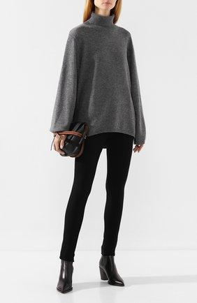 Женская свитер из смеси шерсти и кашемира TOTÊME серого цвета, арт. CAMBRIDGE 193-506-752 | Фото 2
