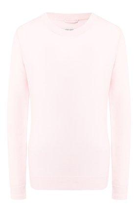 Женская пуловер из смеси шерсти и кашемира MAX&MOI розового цвета, арт. H19L0VER | Фото 1