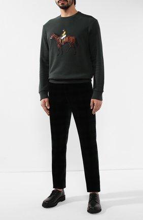 Мужской хлопковые брюки RALPH LAUREN разноцветного цвета, арт. 798772412 | Фото 2