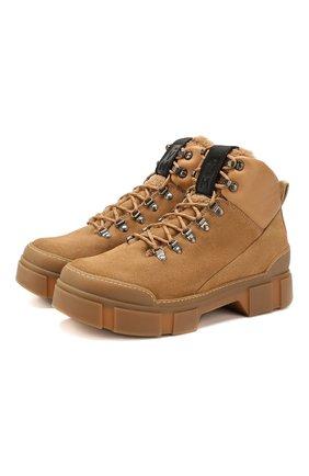 Мужские замшевые ботинки VIC MATIE бежевого цвета, арт. 1V7654U.V06TUDTB69 | Фото 1